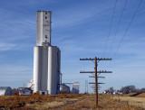 Haswell, CO grain elevators.