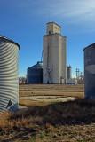 Towner, CO grain elevators.