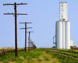 Haswell, CO grain elevator.