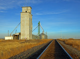 First View, CO grain elevator.