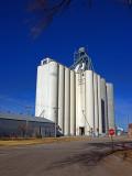 St. Francis, KS grain elevator.