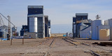 Bird City, KS old grain elevators.
