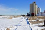 Edson, Kansas grain elevators.