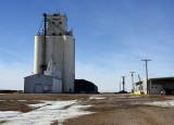 Menlo, Kansas grain elevator.