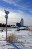 Breton, Kansas grain elevator.