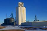 Oberlin, Kansas grain elevator.