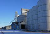 Oberlin, Kansas old grain elevator.