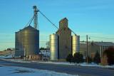 Atwood, Kansas old grain elevator.