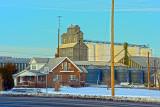 Atwood, Kansas old grain elevator. (HDR).