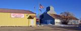Arriola, CO fire station & grain elevator.