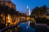Burj Al Arab at dusk