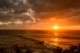 Surfers sunset