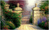 Open Gate (stock image - no copyright)