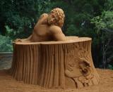 Sand Sculpture at Windsor