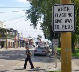 Warning to Flashers