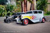 2 1930 Ford Model A's