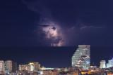 Lightnings over Tel Aviv - ברקים בתל-אביב