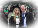 Daughter and Proud Dad