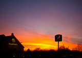 Sunset at Minster Services