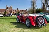 MG Rally at Sissinghurst Castle
