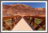 Moab Canyon Pathyway Bridge