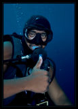 Dexter, our awesome dive master,