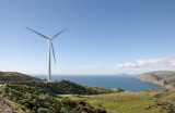 29 October 2012 - One of the Makara windfarm turbines