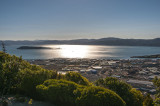 Iconic Wellington Harbour view from the Wainui-o-mata Hill Rd
