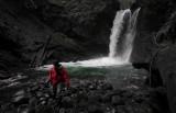 Chris Newley At Sandy Creek Falls (SandyCreekFalls_102312_028-2.jpg)