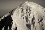 Mt. Hood, Detail Of The Upper Sandy Headwall (Hood_011913_127-9.jpg)