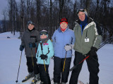A great day of skiing at Mad River Mountain