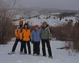 Snowshoe Trek along the Blue River