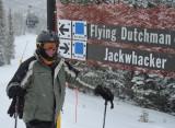 At the Jackwacker trail at Keystone Mountain