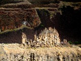 Thin ridge of rocks near Palouse Falls, eastern WA