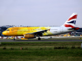 The 'Firefly' at LHR today...this scheme is already back in the usual BA colours after respraying in MST