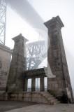 Pilares que Sustentavam a Ponte Pênsil (IIP)