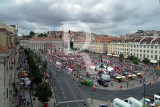 Rossio in Red and White