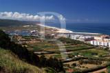Porto de Abrigo e Praia do Salgado em 1 de agosto de 2007