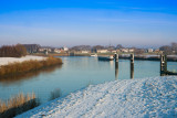 Wintergezicht op Vreeswijk