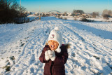 Jocelyn Proeft Eerste Sneeuwhapje