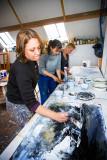 Workshop Materiekunst naar Anselm Kiefer