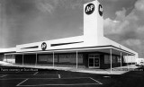 1950's - a new about to open A&P Supermarket next to their warehouse just east of Hialeah at 3333 NW 62nd Street, Miami
