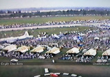 1987- a portion of the crowd at the November Miami Air Show at Opa-locka Airport featuring the Blue Angels