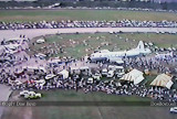 1987- a portion of the crowd and a NOAA P-3 Hurricane Hunter at the November Miami Air Show at Opa-locka Airport