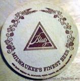 Blatz Beer coasters