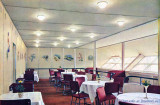 Hindenburg's dining room, one of the earliest color photographs