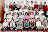 1962-1963 - Mrs. Marshall's 3rd grade class at Palm Springs Elementary School