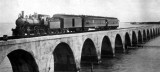 1908 - Henry Flagler's first train to Knight Key over two miles of aquaduct