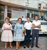 1962 - Ingrid and Sonia Berglund with my old buddies Eric Olson and Norman John Ebel