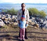 June 1982 - Don and Karen on the north shore of Lake Tahoe, California